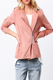 Ethereal Naomi Pink Jacket - Front full body