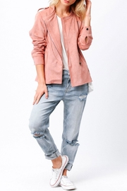 Ethereal Naomi Pink Jacket - Front cropped