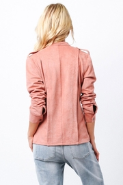 Ethereal Naomi Pink Jacket - Back cropped