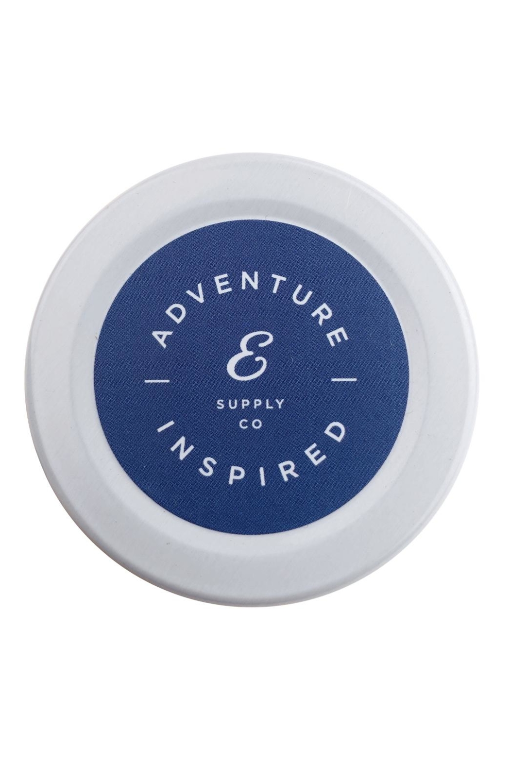 Ethics Supply Co. Coconut-Wax Travel Candle - Front Full Image