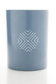 Ethics Supply Co. Organic Coconut-Wax Candle - Back cropped