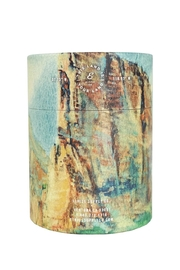 Ethics Supply Co. Organic Coconut-Wax Candle - Front full body