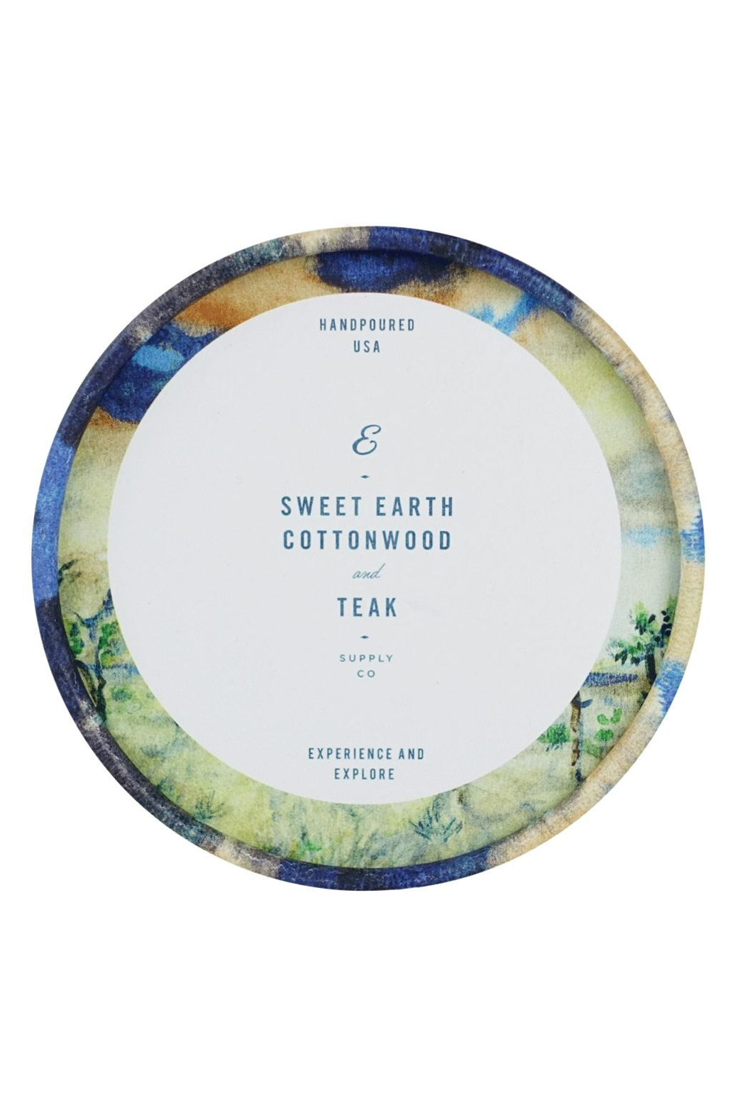 Ethics Supply Co. Organic Coconut-Wax Candle - Side Cropped Image
