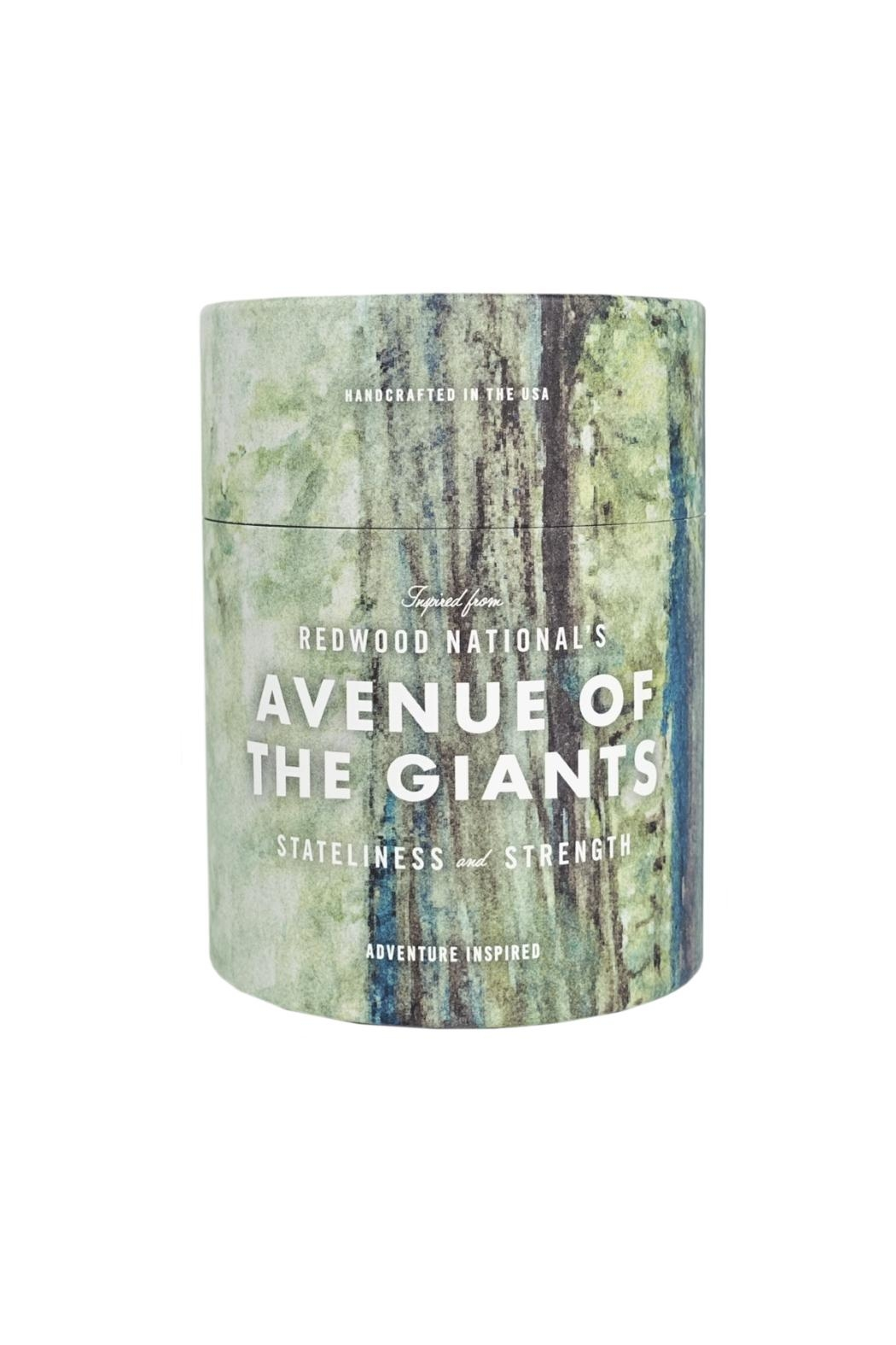 Ethics Supply Co. Redwood Giants Candle - Front Cropped Image