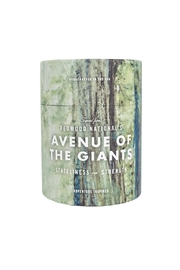 Ethics Supply Co. Redwood Giants Candle - Front cropped