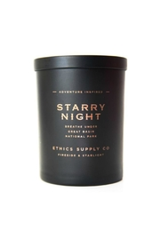 Ethics Supply Co. Starry Night Candle - Front cropped