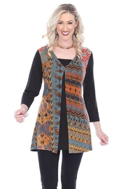 Parsley & Sage Ethnic Jersey Tunic - Product Mini Image