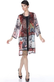 Aris A Ethnic Patchwork Jacket - Product Mini Image