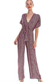 Miley and Molly Ethnic Print Jumpsuit - Product Mini Image