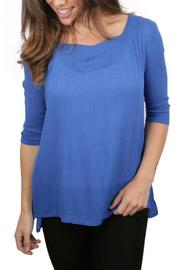 Ethyl Back Crossed Tunic - Front cropped