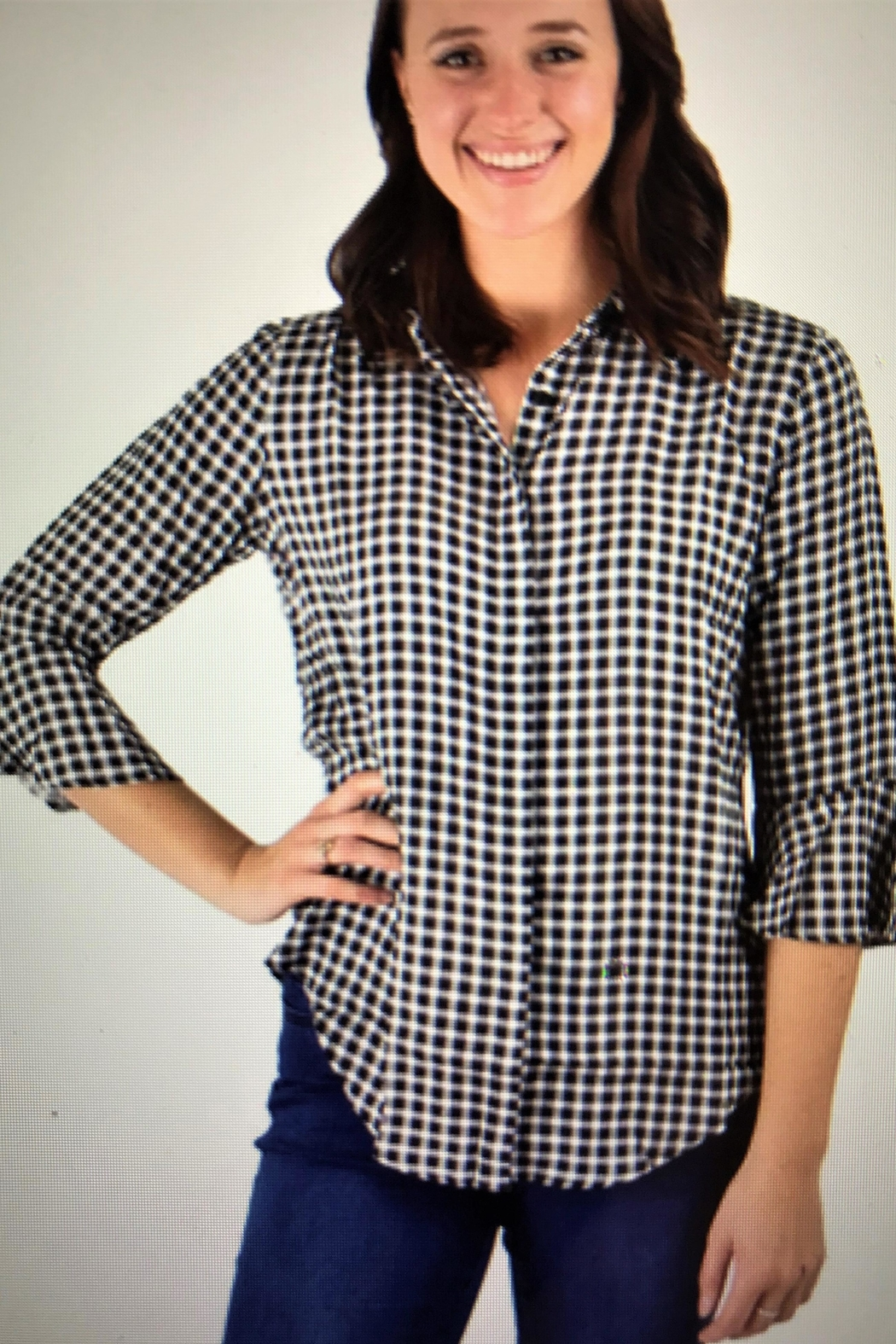 Ethyl Bell Sleeve Blouse - Front Cropped Image