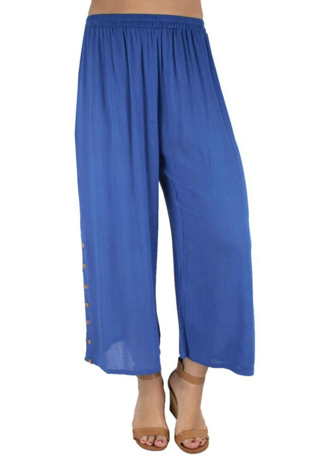 Ethyl Button Ankle Pant - Main Image