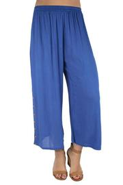 Ethyl Button Ankle Pant - Product Mini Image