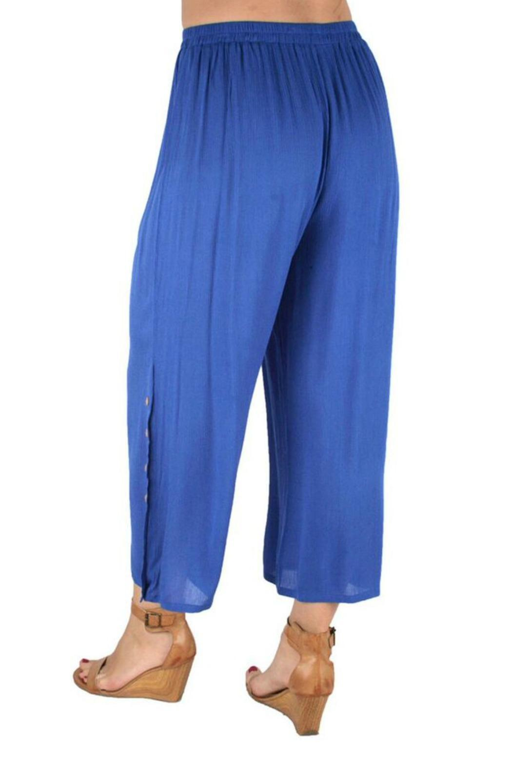 Ethyl Button Ankle Pant - Front Full Image