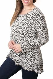 Ethyl Cheetah Print Top - Product Mini Image