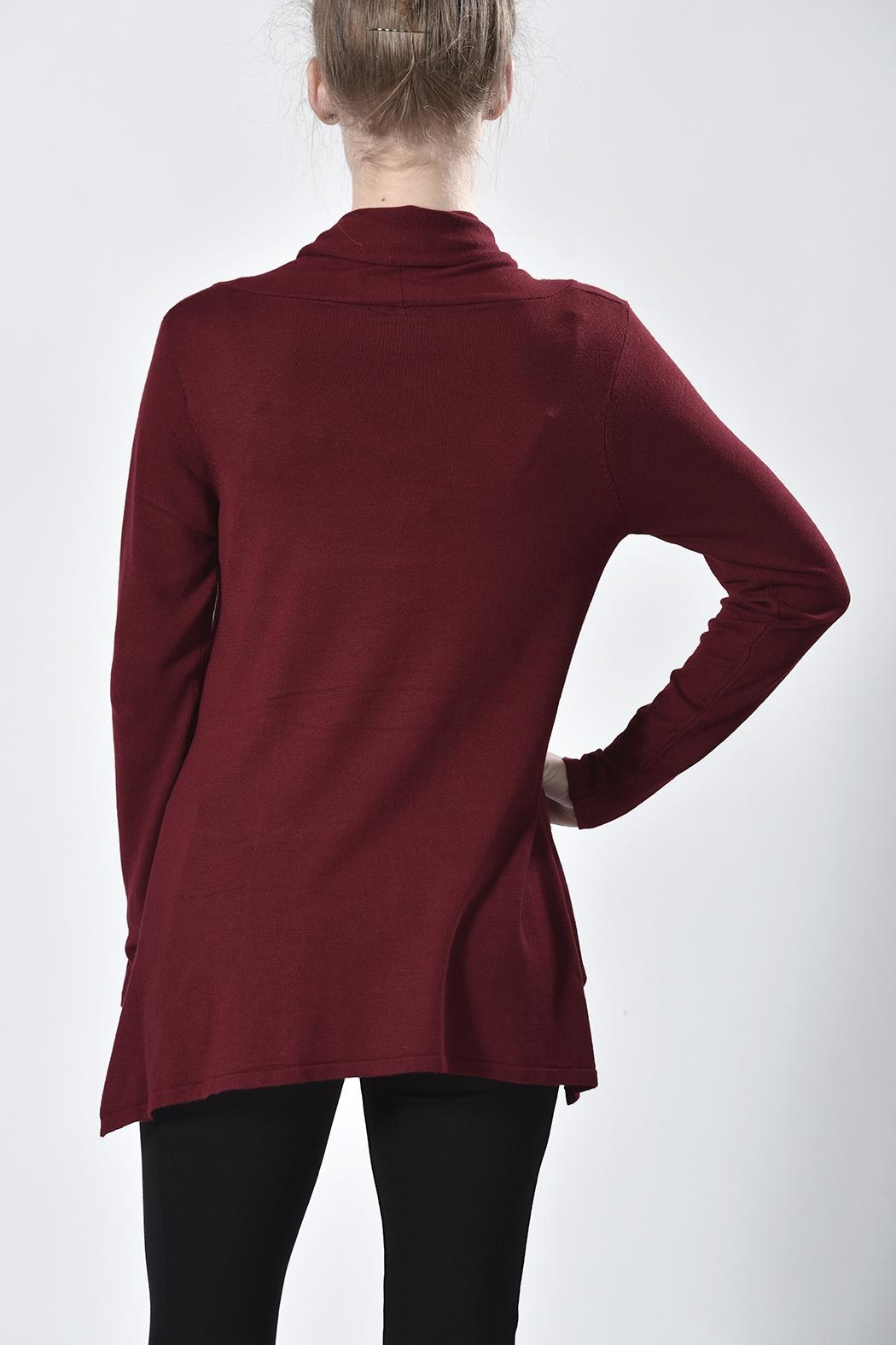 Ethyl Cowl Neck Tunic - Front Full Image