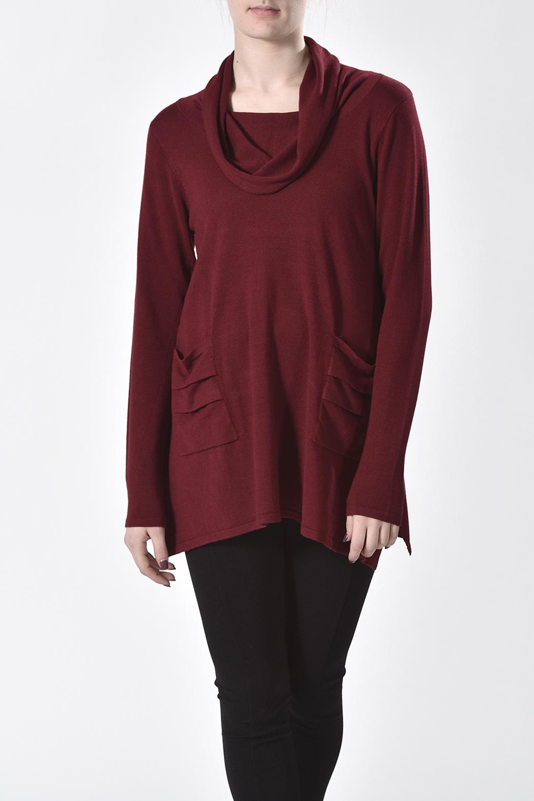 Ethyl Cowl Neck Tunic - Main Image
