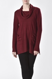 Ethyl Cowl Neck Tunic - Front cropped