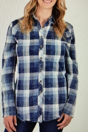 Ethyl Distressed Denim Plaid - Product Mini Image