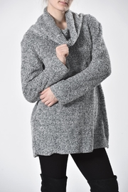 Ethyl Furry Cowl Sweater - Front cropped