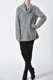 Ethyl Furry Cowl Sweater - Front full body