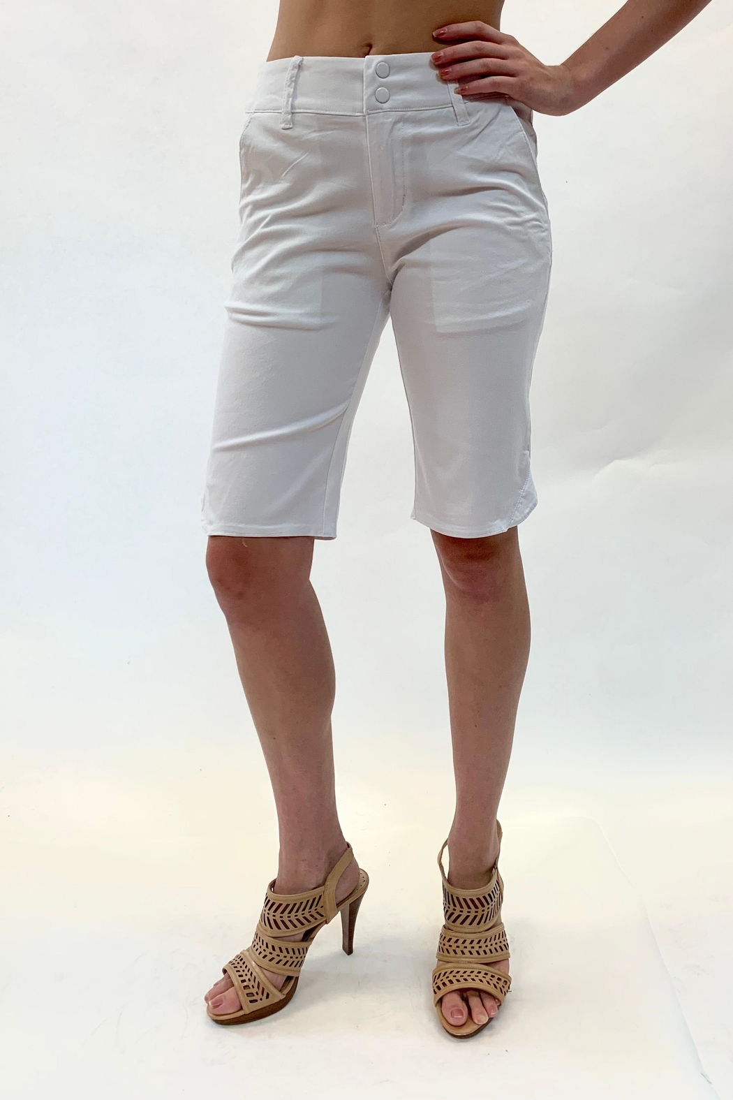 Ethyl Mid-Length Short - Front Cropped Image