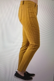 Ethyl Mustard Skinny Jeans - Front cropped