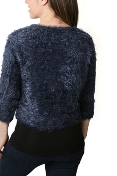 Shoptiques Product: Navy Glitter Sweater
