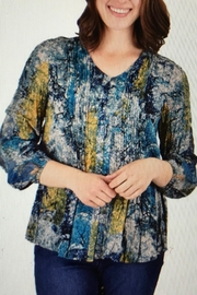 Ethyl Crinkle Rayon Blouse - Product Mini Image