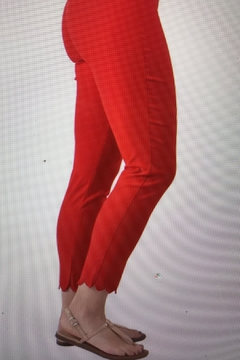 Ethyl Red Ankle Pant - Product List Image