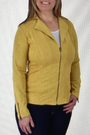 Ethyl Soft Faux Suede Jacket - Product Mini Image