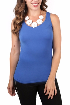Shoptiques Product: Solid Royal Tank