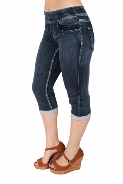 Shoptiques Product: Terry Denim Capri