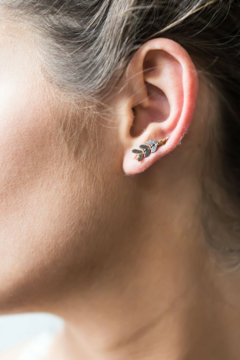 Sarah Briggs ETIENNE CRAWLER EARRINGS - Alternate List Image