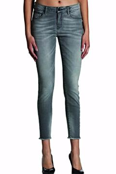Shoptiques Product: Skinny Frayed Jean