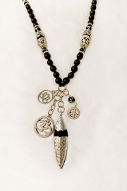 Etnia Black Charm Necklace - Product Mini Image
