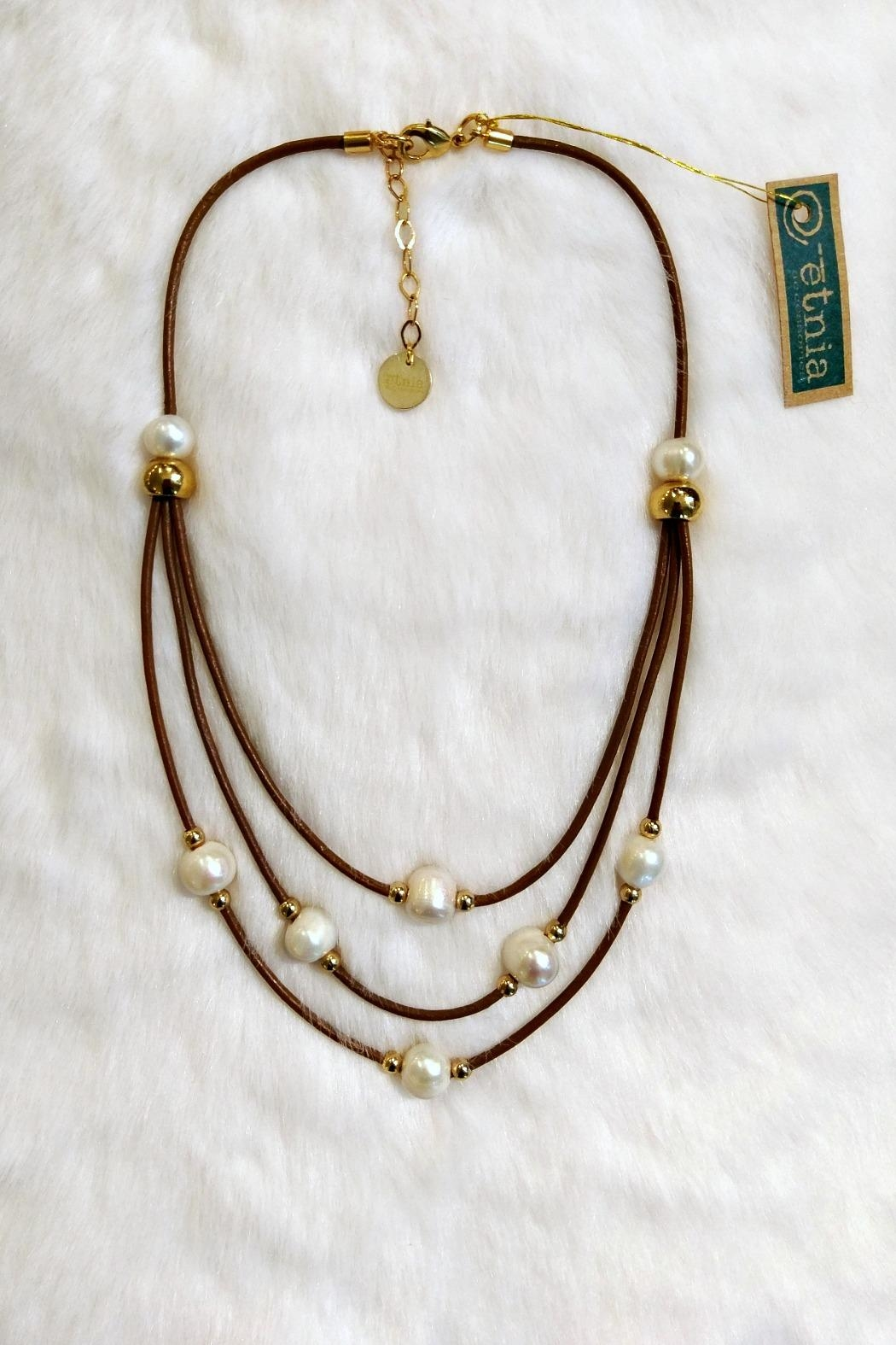 Etnia Lucky Pearls Necklace - Main Image