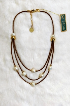 Etnia Lucky Pearls Necklace - Product List Image