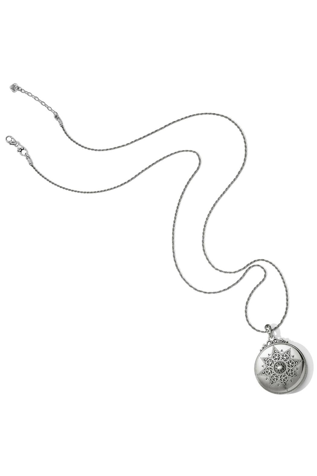 Brighton Etoile Locket Necklace - Back Cropped Image