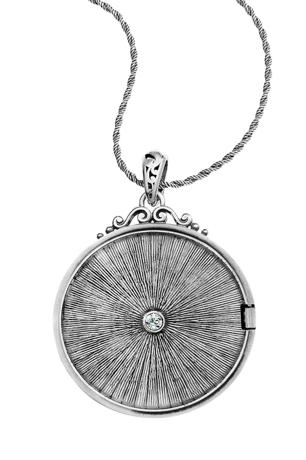 Brighton Etoile Locket Necklace - Side Cropped Image