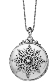Brighton Etoile Locket Necklace - Front cropped