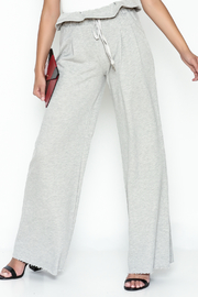 etophe Ruffle Waist Knit Pants - Product Mini Image