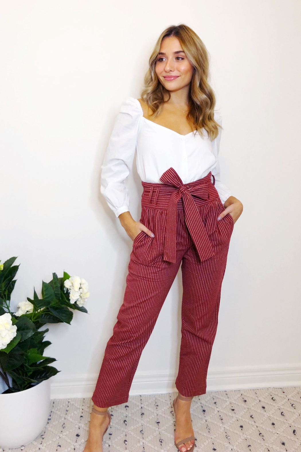 etophe studios Willow Trouser - Front Cropped Image