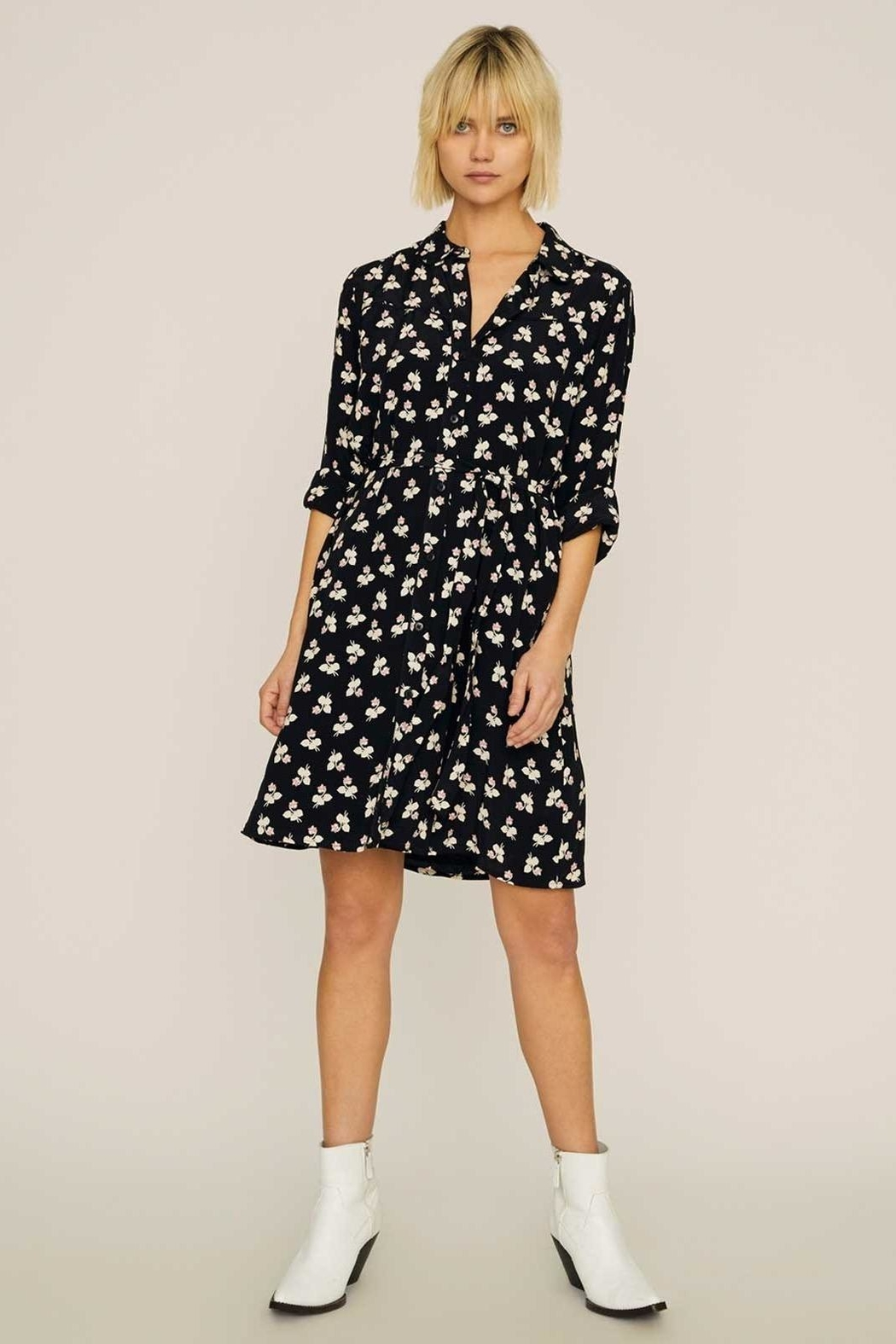 Sanctuary Etta Shirt Dress - Front Full Image