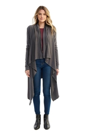 Groceries Apparel Eucalyptus Grey Cardigan - Product Mini Image