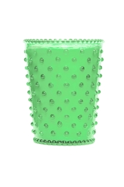 Simpatico Eucalyptus Hobnail Candle - Front cropped