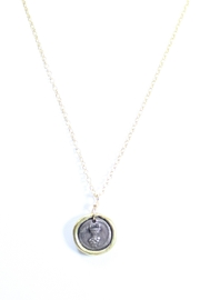 The Birds Nest EUCHARIST FIRST COMMUNION NECKLACE - 8.5 INCH CHAIN - Product Mini Image
