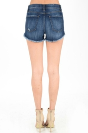 Eunina Cleo Distressed Shorts - Side cropped