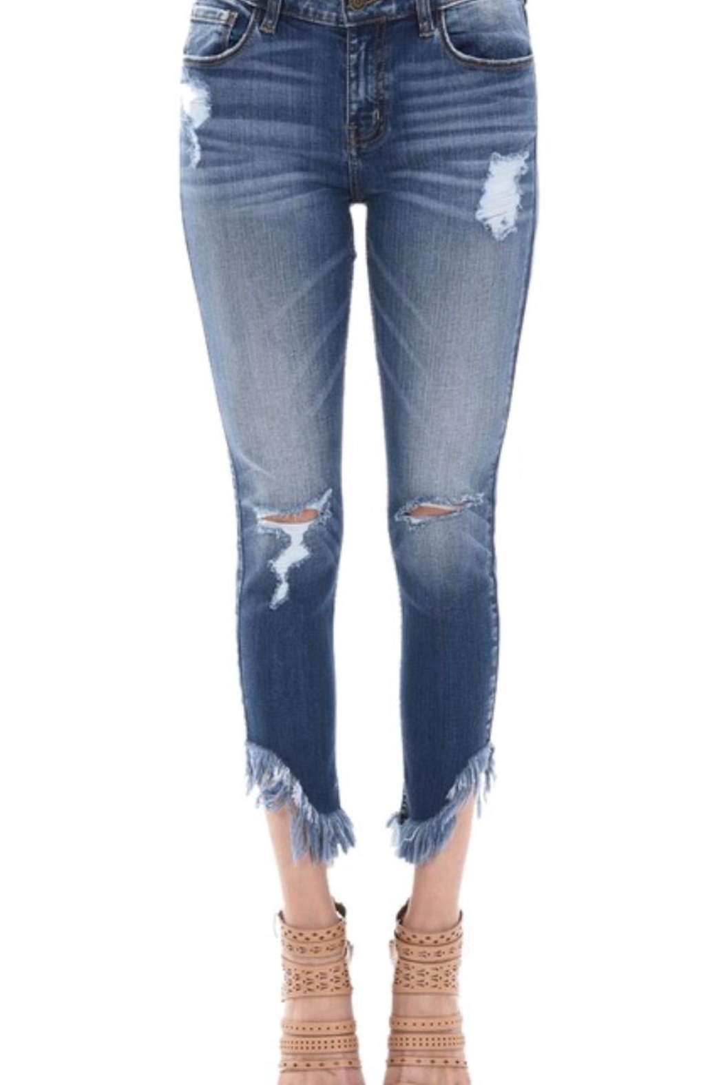 c159c3006762a1 Eunina Fringe Bottom Jeans from New York City by Foxy Lady — Shoptiques