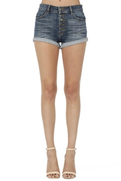Shoptiques Product: High-Rise Button-Fly Shorts